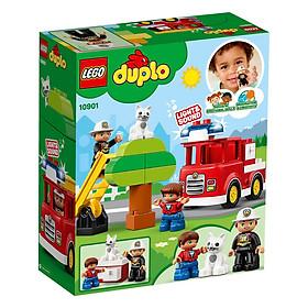 Mô hình LEGO DUPLO - Xe Cứu Hỏa Của Bé 10901 (có đèn)