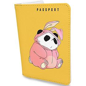 Bao Da Hộ Chiếu du lịch hình GẤU CUTE - Ví Đựng Passport Và Thẻ - Thiết Kế Trẻ Trung - Đa Năng Tiện Lợi - Hình Ảnh Độc Đáo - Cá Tính PPAT088