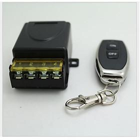Công tắc điều khiển từ xa khoảng cách 100m/3000W/220V RF 433Mhz xuyên tường có chức năng học lệnh