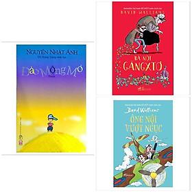 Combo 3 cuốn ly kì dí dỏm: Đảo Mộng Mơ + Ông Nội Vượt Ngục + Bà Nội Găngxtơ (Sách đong đầy yêu thương)