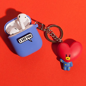 BTS BT21 Official Authentic Goods Keyring Airpods Case (Character 1 of 7)