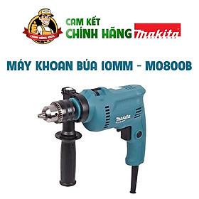 Máy khoan cầm tay mini,Máy khoan điện cầm tay gia đình,Máy khoan buá.Máy khoan Makita chính hãng m0800b  10mm.