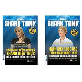 Combo sách Cách Biến 1.000 USD Thành Doanh Nghiệp Tỷ Đô Của Shark Barbara Corcoran và Cách Biến Ý Tưởng Triệu Đô Thành Hiện Thực Của Shark Lori Greiner tặng cuốn sách rèn luyện kĩ năng cho bé