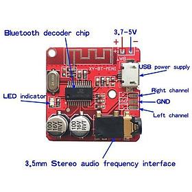 Mạch bluetooth 5.0 nguồn 5v micro USB - HW BT