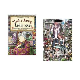 Combo 2 cuốn sách: Thiên đường tiền xu - câu chuyện về tiệm bánh kẹo ma thuật 4 + Vật linh hội tập 2: Thiên tài bút khô