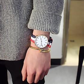 Đồng hồ dây đeo thời trang geneva đẹp DH65