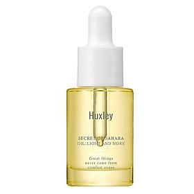 Tinh chất dưỡng ẩm da chuyên sâu Huxley Oil; Light and More 5ml (Travel size)