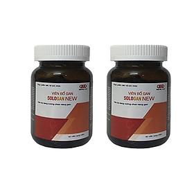 TPCN [Giải độc gan] Bổ Gan Sologan New - Sản phẩm cho người Việt ( 2 Hộp)