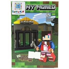 Bộ Xếp Hình - My World - 33269 - Lk49