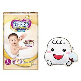 Tã Bobby Quần Extra Soft Dry L56-1905 [Tặng Gối ôm hình mặt Bobby Chan]