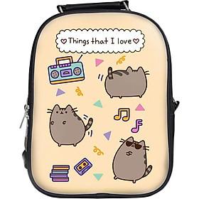 Balo In Hình Pusheen Things That I Love BLCT182