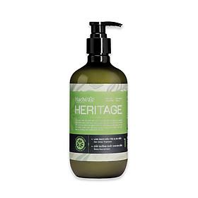 Dầu gội HACHI VIETNAM Heritage 500g (Shampoo) - xanh lá