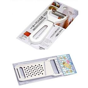 Combo dụng cụ nạo sợi & cắt gọt tạo hình củ quả nhập khẩu từ Nhật