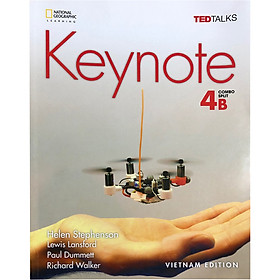 Keynote 4B: Student Book with MyKeynoteOnline (American English) (VietNam Edition)