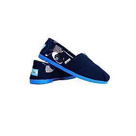Giày Vải Nữ TS06 - Xanh Đen