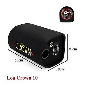 Loa Crown cỡ số 10(BASS 25CM), có Bluetooth, Cỡ lớn nhất của dòng loa Crown, TN Bluetooth Siêu Bass Có Mic Đàm Thoại Thích Hợp các cuộc họp, hội nghị và học trực tuyến trên Zoom - Hàng nhập khẩu