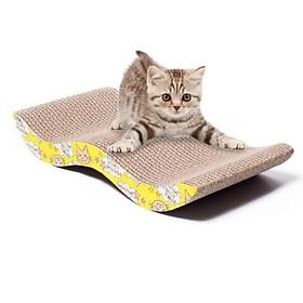 Bàn cào móng cho mèo lượn sóng