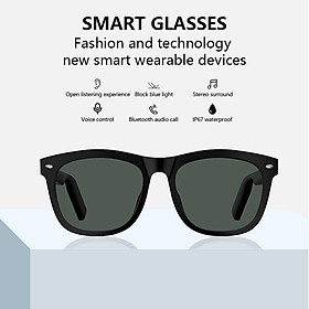 E9 Wireless Intelligent Multifunctional Bluetooth Glasses Listen Songs Sports Waterproof Glasses
