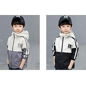 Biểu đồ lịch sử biến động giá bán  áo khoác bé trai , áo gió cho bé từ 5 đến 14 tuổi D29