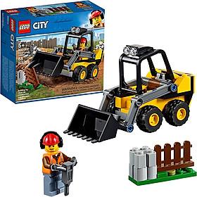 Đồ Chơi Lắp Ghép, Xếp Hình LEGO - Xe Xúc Công Trình 60219 (Hàng Clearance-Không Đổi Trả)
