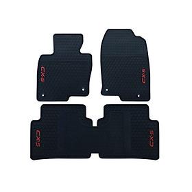 Thảm sàn lót chân cao su dành cho ô tô MAZDA CX5 Chống trơn trượt, Chống bám bẩn, Không mùi thân thiện môi trường, Dễ dàng vệ sinh, lau chùi, Màu đen tiện dụng sang trọng