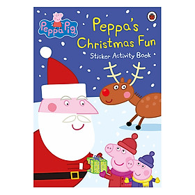 Peppa Pig : Peppa's Christmas Fun Sticker Activity Book