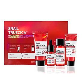 Bộ sản phẩm dưỡng da Some By Mi Snail Truecica Miracle Repair Starter Kit-Edition