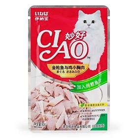 Sốt cho mèo Pate cho mèo Ciao 60gr