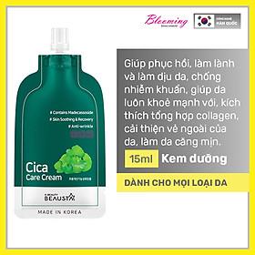 Kem dưỡng ẩm chiết xuất rau má phục hồi da Beausta Cica Repair Cream 15ml