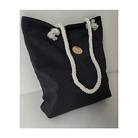 Hình đại diện sản phẩm Túi xách tay nữ đựng giấy A4, túi xách vải canvas chất, thời trang