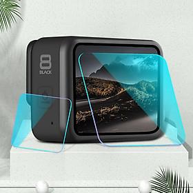 Bộ 2 miếng dán kính cường lực bảo vệ màn hình gopro hero 8