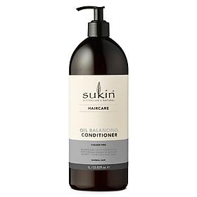 Combo gội xả cân bằng dầu Sukin Oil Balancing Shampoo 500ml & Sukin Oil Balancing Conditioner 1000ml-2
