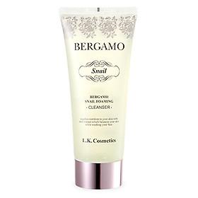 Sữa Rửa Mặt Bergamo Snail Foaming Cleanser150ml