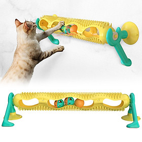 Cat Tracks Cat Toy Pet Interactive Toy Cat Scratching Tickle Toy with Catnip Glowing Balls