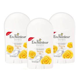 Bộ 3 Sáp khử mùi trắng da Enchanteur Charming 40gr*3