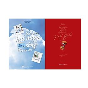 Combo 2 Cuốn Sách: Mới hơn hai mươi tuổi đừng sống hết cuộc đời + Mọi khoảnh khắc đều là quý giá