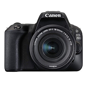 Máy Ảnh Canon EOS 200D KIT 18-55 IS STM (Đen) - Hàng Nhập Khẩu