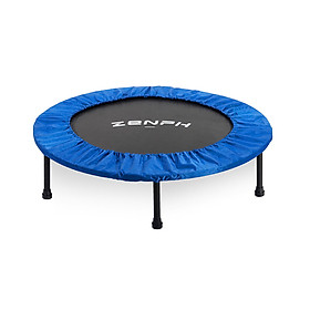 XiaomiZenph Foldable Muted Round Trampoline Kids Indoor Entertainment Tool Adult Fitness Workout Stability Training Trampoline-0