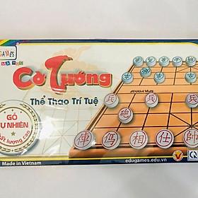 Bàn cờ tướng lớn và cờ bằng gỗ EDUGAMES
