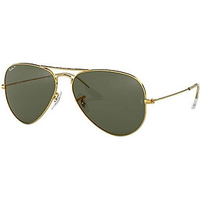Ray Ban RB3025 AVIATOR LARGE METAL Polarized Sunglasses For Men For Women