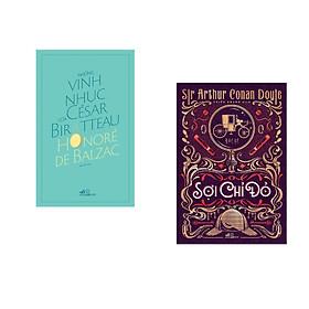 Combo 2 cuốn sách: Những vinh nhục của César Birotteau + Sherlock Holmes: Sợi chỉ đỏ