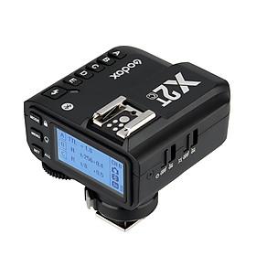 Bộ Kích Hoạt Đèn Flash Không Dây Godox X2T-C E-TTL II Cho Máy Ảnh DSLR Canon V1 TT685C TT350C V860II-C TT600 AD200 AD200Pro Và iPhone X / 8/8 Plus HUAWEI P20 Pro / Mate 10 Samsung S8 Note8 - Đen (2.4G) (1/8000s HSS)