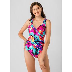 Bikini Một Mảnh Nhún Dây Chéo - BS130