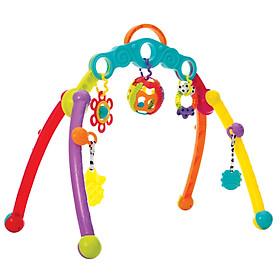 Kệ chữ A treo đồ chơi Playgro Fold and Go Playgym, cho bé sơ sinh đến 18 tháng