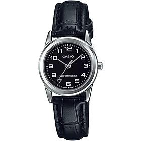 Đồng hồ nữ dây da Casio LTP-V001L-1BUDF
