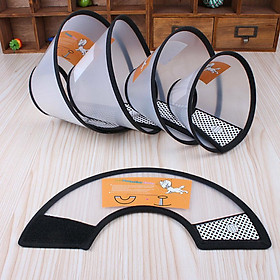 Cone Protective Collar for Pet Dogs Cats Wound Healing Protection Cover