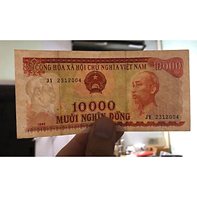 Tờ 10000 đồng Việt Nam 1993, tiền xưa bao cấp sưu tầm