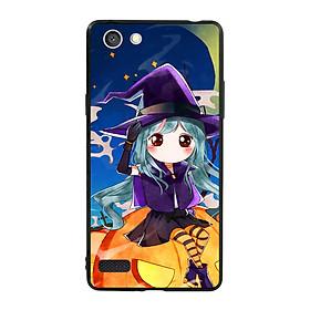Hình đại diện sản phẩm Ốp lưng Halloween viền TPU cho điện thoại Oppo Neo 7 - Mẫu 04
