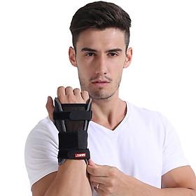 Đai bảo vệ cổ tay, bàn tay chính hãng Aolikes AL1680 (1 chiếc)-1