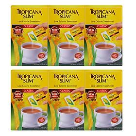 Combo 6 Hộp Đường Ăn Kiêng Tropicana Slim Low Calorie Sweetener Classic (50  x 2g)